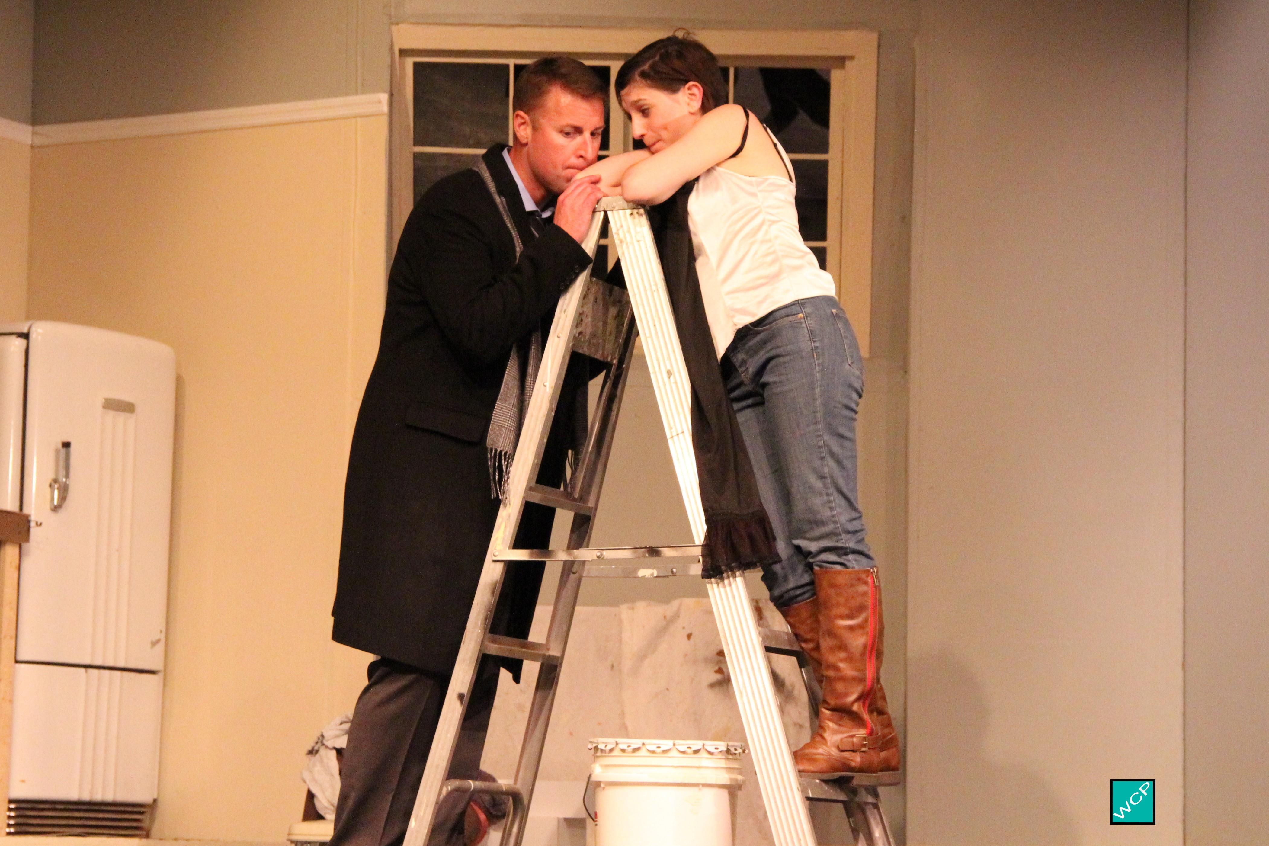 Brian Remo as Paul, Debbie Campanali as Corie