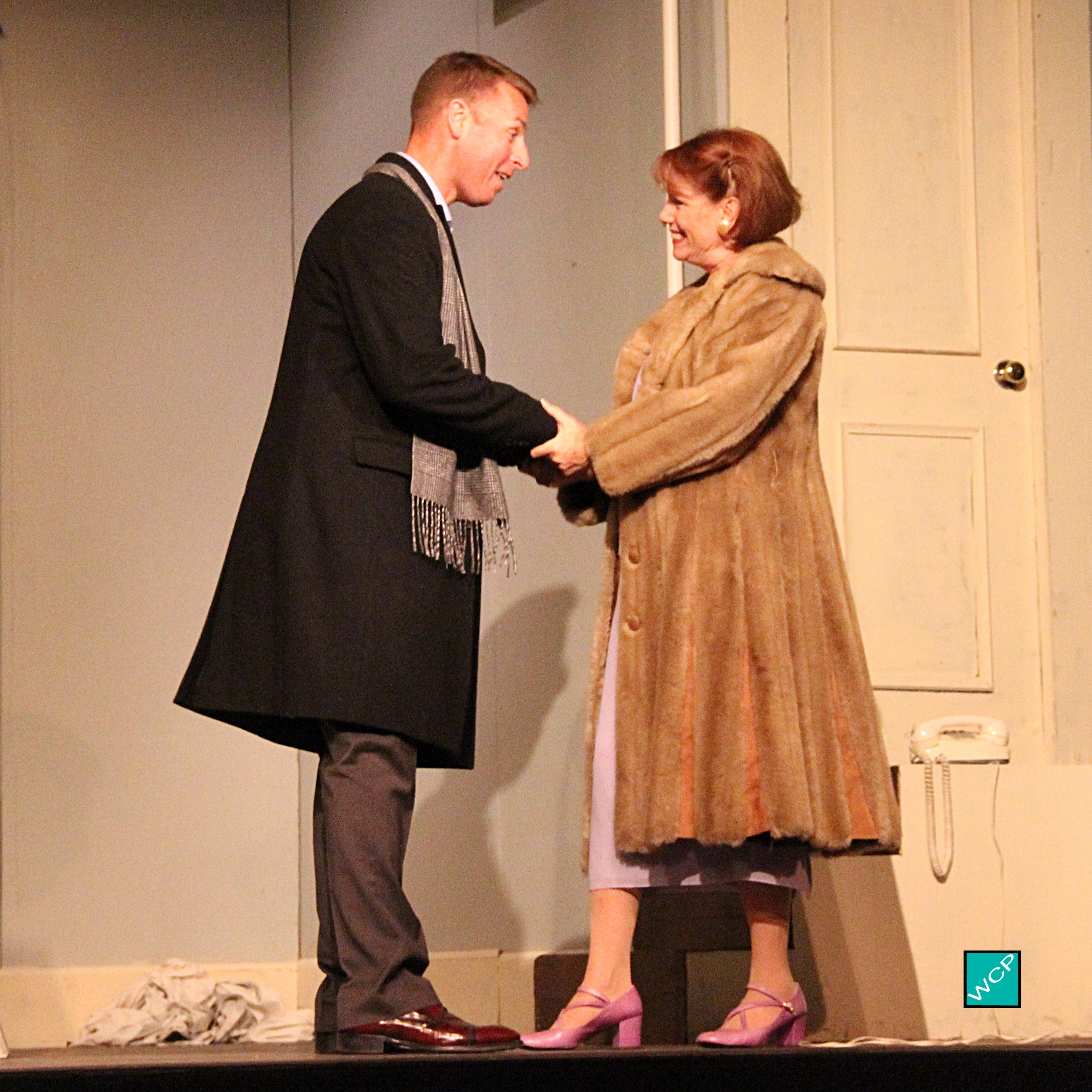 Brian Remo as Paul, Zita Geoffroy-Heinz as Mrs. Banks