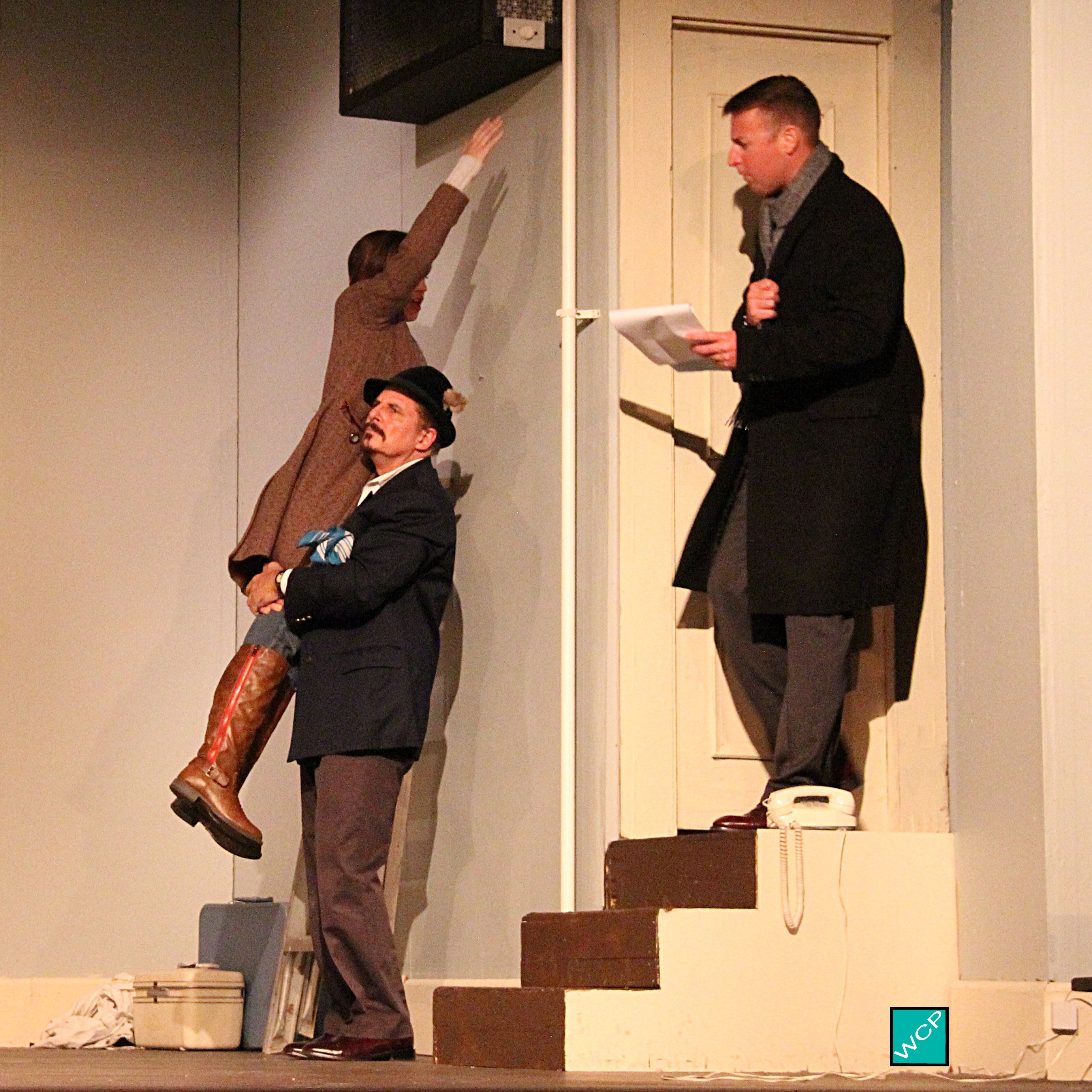 Debbie Campanali as Corie, Russ Ortiz as Victor Velasco, Brian Remo as Paul