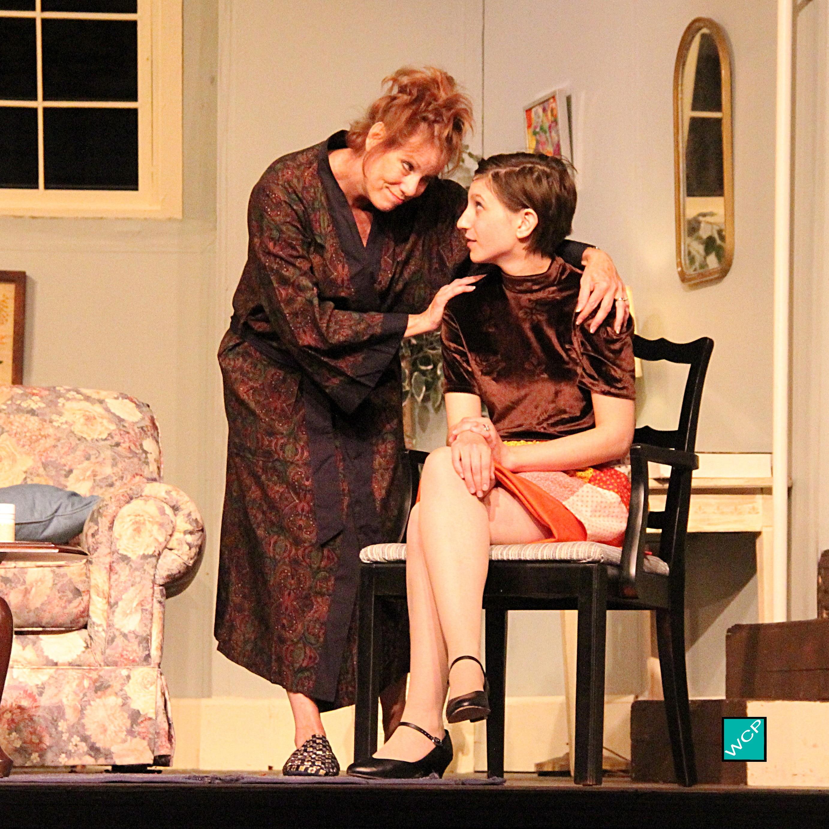 Zita Geoffroy-Heinz as Mrs. Banks, Debbie Campanali as Corie