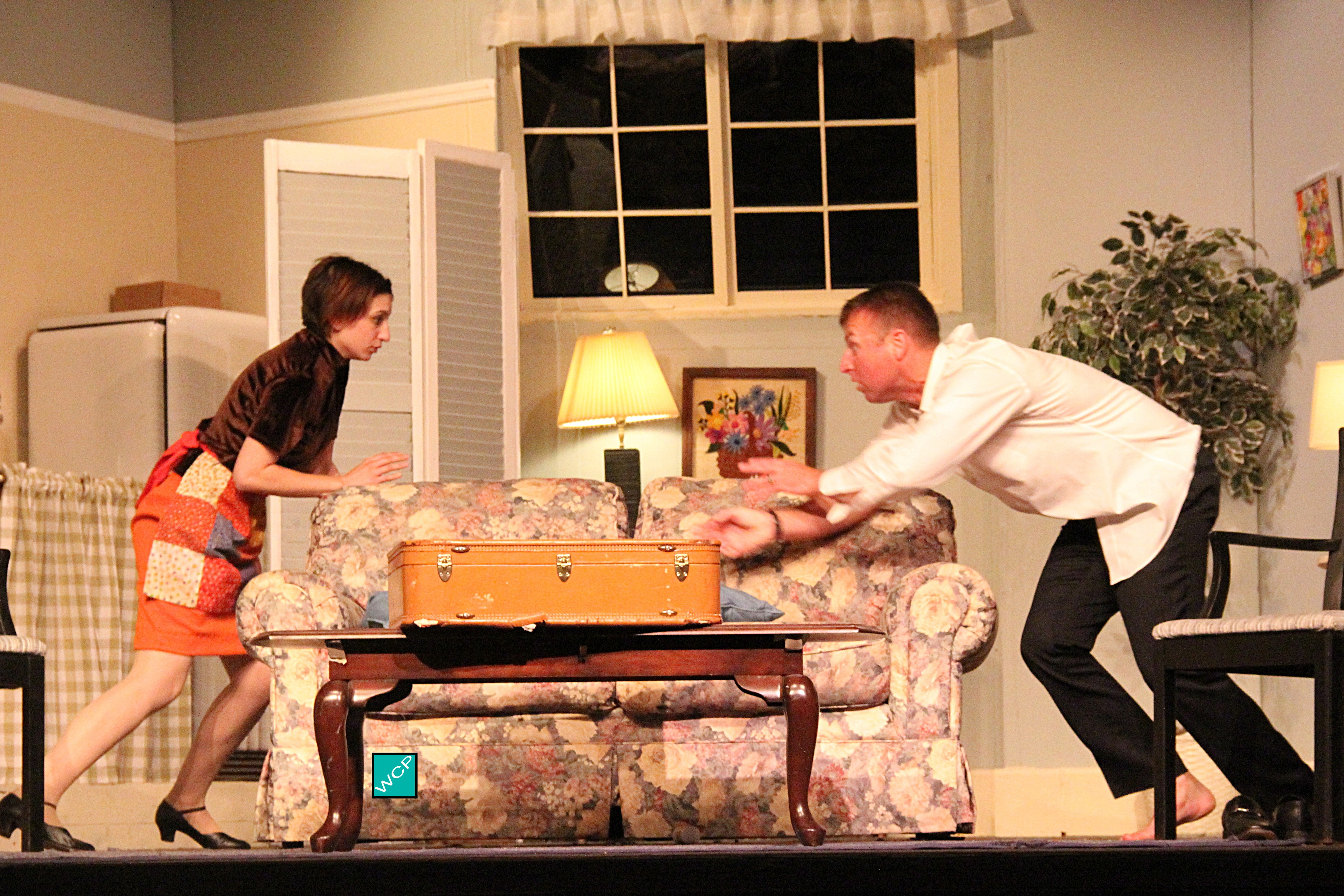Debbie Campanali as Corie, Brian Remo as Paul